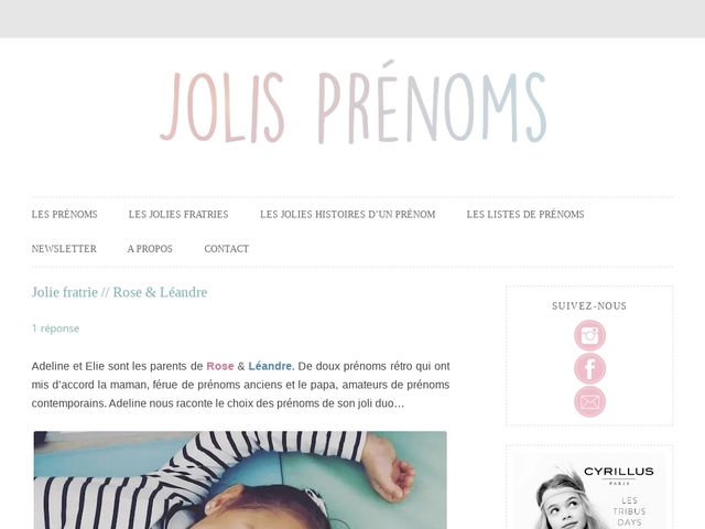 Le Blog De Melissa