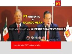Partidos Políticos - Partido del Trabajo (PT)