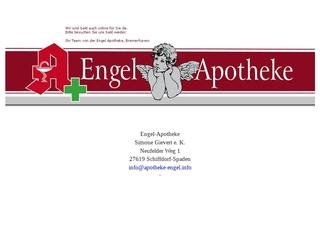 Vorschaubild der Webseite von Engel Apotheke