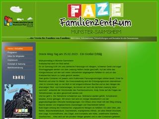 Vorschaubild der Webseite von Familienzentrum Münster-Sarmsheim