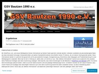 Vorschaubild der Webseite Gehörlosen-Sportverein e.V.