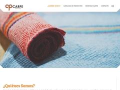 Fibras Hilados Telas - Carpe Textiles