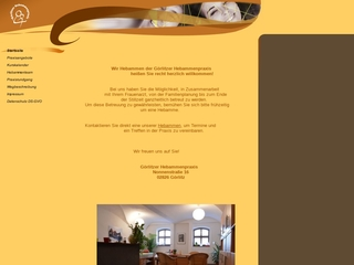 Vorschaubild der Webseite von Görlitzer Hebammenpraxis