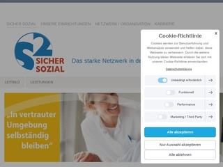 Vorschaubild der Webseite von 2-S-Dienste Häusliche Pflege u. Betreuung GmbH