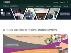 Gobierno - Fiscalía Especializada en Delitos Electorales (FEPADE)