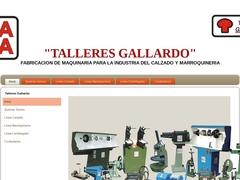 Maquinaria Refacciones - Talleres Gallardo Industria del Calzado