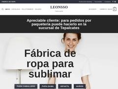Manufactura Ropa Playeras - Leonsso
