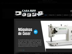 Maquinaria Refacciones - Casa Rizo
