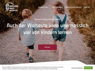 Vorschaubild der Webseite von Kindertagesstätte Waldorfhaus Brunnthal