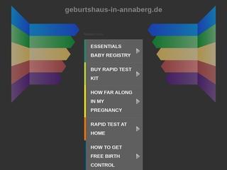 Vorschaubild der Webseite von Geburtshaus Glühwürmchen