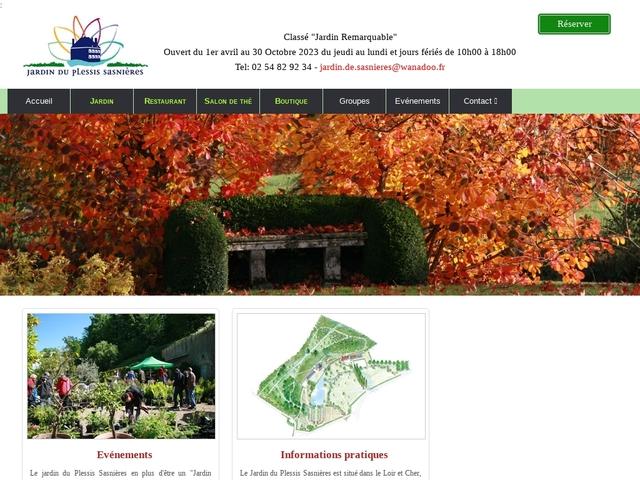 Jardin du Plessis Sasnieres