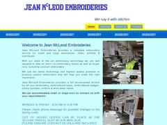 Producción Bordados - Jean Mc Leod Embroideries