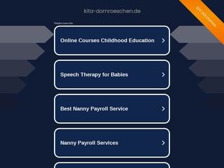 Vorschaubild der Webseite Kindertagesstätte  Dornröschen