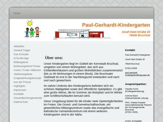 Vorschaubild der Webseite von Ev. Kindergarten Paul Gerhardt