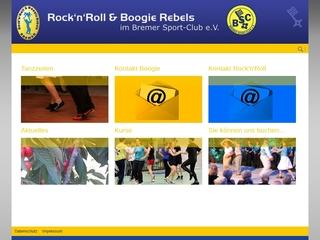 Vorschaubild der Webseite von RocknRoll & Boogie Rebels