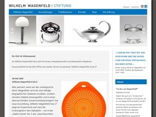 Vorschaubild der Webseite von Wilhelm Wagenfeld Stiftung