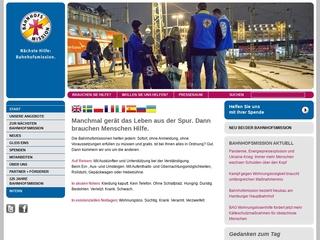 Vorschaubild der Webseite von Bahnhofsmission Bremen