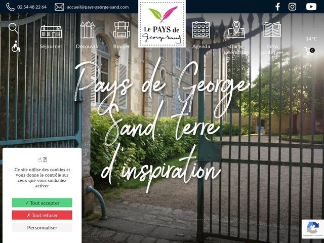 officiel du tourisme au pays de George Sand