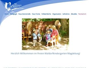 Vorschaubild der Webseite von Waldorfkindergarten Magdeburg