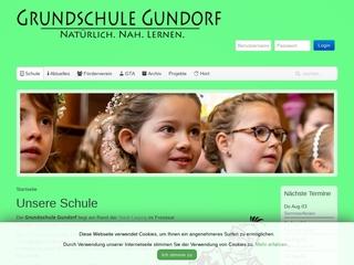 Vorschaubild der Webseite von Grundschule Gundorf