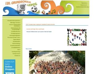 Vorschaubild der Webseite von 120. Schule - Grundschule