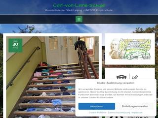 Vorschaubild der Webseite von Carl-von-Linné-Grundschule