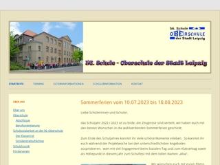 Vorschaubild der Webseite von 56. Oberschule