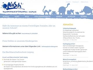 Vorschaubild der Webseite von Nachbarschaftsschule - Oberschule