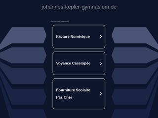 Vorschaubild der Webseite von Johannes-Kepler-Gymnasium