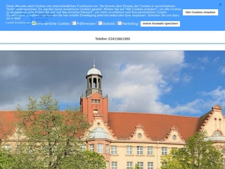 Vorschaubild der Webseite von Leibnizschule - Gymnasium