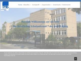 Vorschaubild der Webseite von Berufliches Schulzentrum 7 - Elektrotechnik