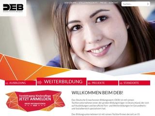 Vorschaubild der Webseite von Staatlich anerkannte Berufsfachschule für Altenpflege