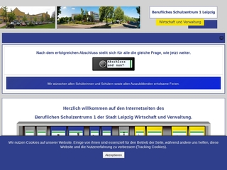 Vorschaubild der Webseite von Berufliches Schulzentrum 1 - Wirtschaft und Verwaltung