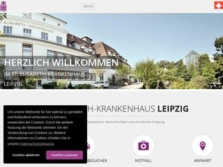 Vorschaubild der Webseite von Krankenpflegeschule des St. Elisabeth-Krankenhauses