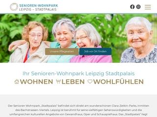 Vorschaubild der Webseite von Senioren-Wohnpark Leipzig Stadtpalais