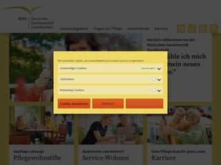 Vorschaubild der Webseite von Pflegewohnstift Am Thonberg