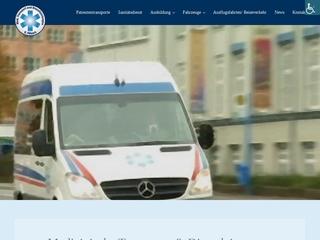 Vorschaubild der Webseite von Behindertenfahrdienst Medizinische Transporte und Dienstleistungen Daniel Pötzsch