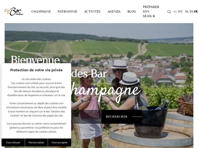 Tourisme Côte des Bar