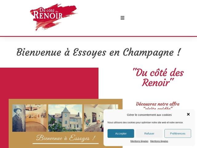 Du Côté des Renoir à Essoyes