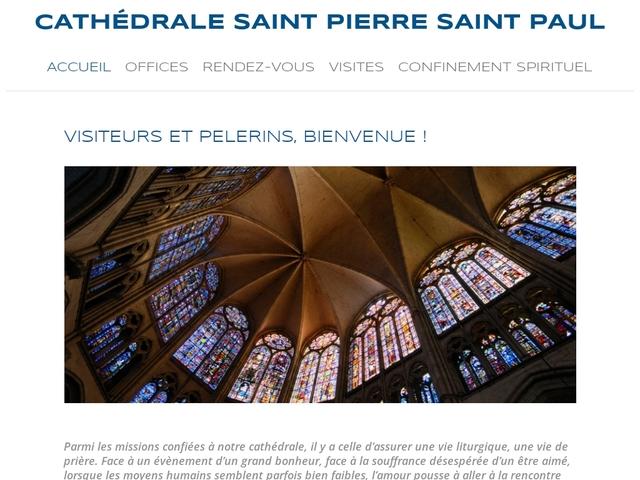 Cathédrale Saint-Pierre Saint-Paul à Troyes