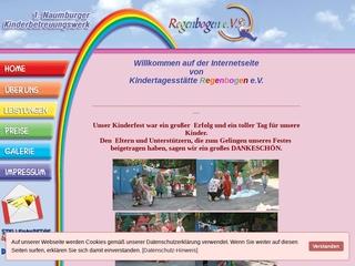 Vorschaubild der Webseite von Integrative Kindertagesstätte Regenbogen
