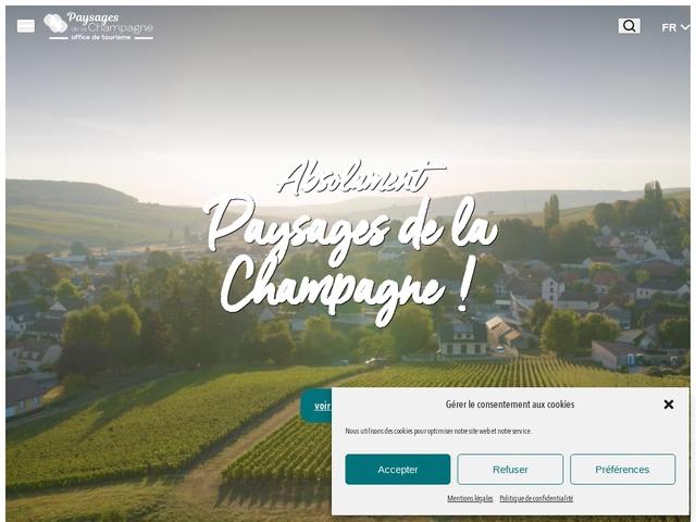 Office de Tourisme des Paysages de la Champagne