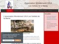 L'association Mondement 1914 Les soldats de Marne