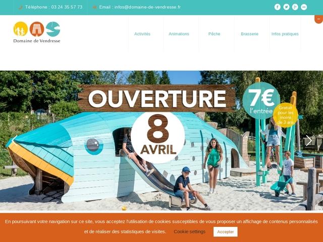Domaine de Vendresse parc de loisirs