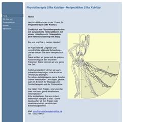 Vorschaubild der Webseite Physiotherapie Silke Kubitza