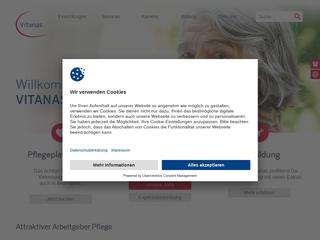 Vorschaubild der Webseite von Vitanas Akademie gGmbH