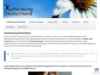 Vorschaubild der Webseite von Kurberatung Deutschland