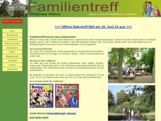 Vorschaubild der Webseite von Treffpunkt im grünen Haus am Weiher Hattersheim