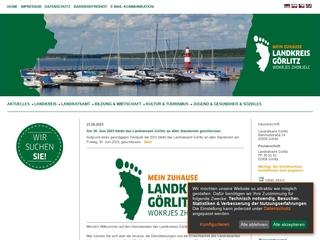 Vorschaubild der Webseite von Landratsamt Görlitz - Jugendamt