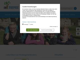 Vorschaubild der Webseite Kindertagesstätte Zappelfrösche
